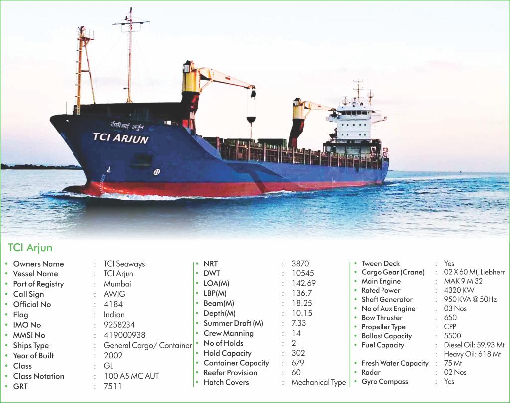 TCI Seaways - Fleet